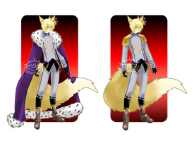 CE - Prince Rigel Outfit by Eye-Candy-Maker