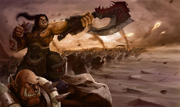 Warlords of Draenor by DanOliveira