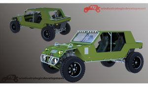 4X4 fLYER DUNE BUGGY by winduparamarta