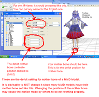 About MMD Mother Bone Settings by xxSoulsealerxx