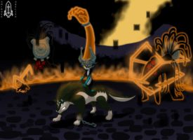 Link and Midna Vs Shadows.pt2 by Purple-Plasmid