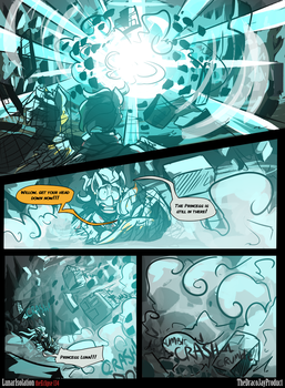 Lunar Isolation Pg 134 by TheDracoJayProduct