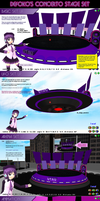 MMD Defoko's Concerto Stage instructions by Trackdancer
