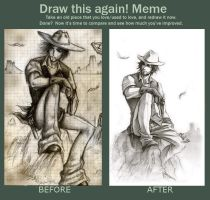 Before and After Meme - Eagle Joe by Lehanan