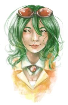 Gumi Realistic Portrait by kkbook