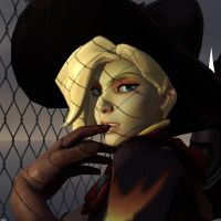 Witch Mercy Portrait by 11819514113124