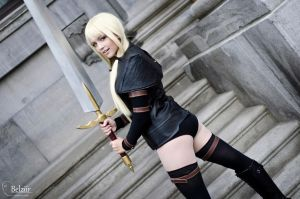 Claymore+Badass Warrior+ by zuki-nyu