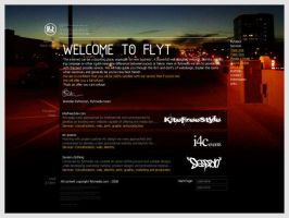 Flytmedia website design by br3n
