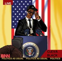 Cleva Cover: Politics As Usual by BbStarD