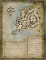 Oraven - Village of Dunral by MaximePLASSE
