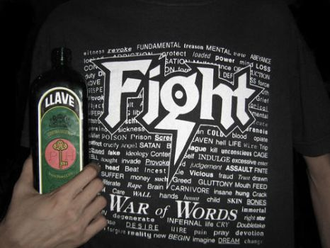 Fight for you right to gin by Nostawen