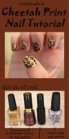 Jaguar Print Nail Tutorial by yobanda