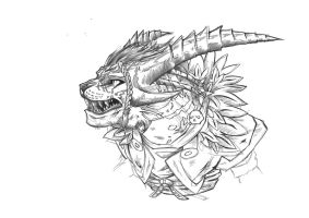 Charr ~project in progress~ by Sylfeanne