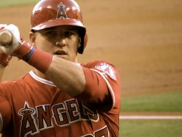 Mike Trout by AMartin17