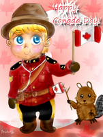 Happy Canada Day 2011 by 0rcinus