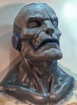 Apocalypse Prosthetic Paint Test by JoynerStudio