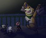 Halloween Mission 2014 nr.1 - Get those candies! by KilaWolfsblut