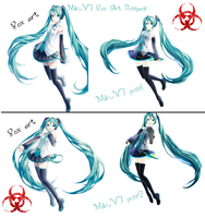 MikuV3 posepack download by DisposableBiohazard