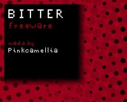 Bitter Font by pinkcamellia