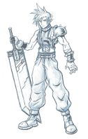 FFVII-Cloud Strife by arvalis