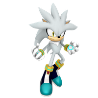Silver the hedgehog 2016 render by Nibroc-Rock