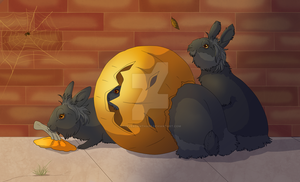 Halloween Leftovers by The-Hare