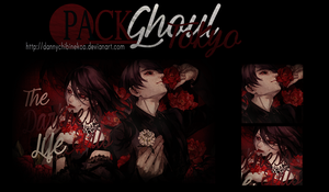 Tokyo Ghoul Pack by DannyRyouta