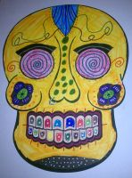 Day of the Dead Mask by AkiHannah