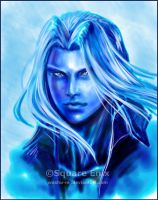 SEPHIROTH in Blue by Washu-M