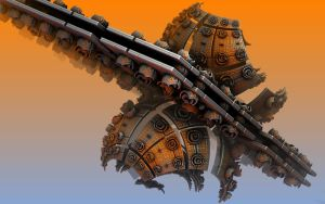 Decommissioned Space Mines by HalTenny