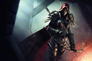 THE DARK LADY - Sylvanas Windrunner by MarkVano