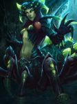 Toxic Caress Arachne by Andantonius