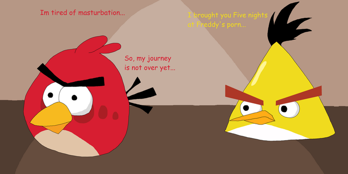 Angry Birds, Red's foreskin chronicles by Sikojensika