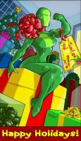 Super-Heroine by Franchesco