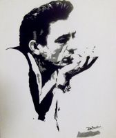Johnny Cash by DanielleSanders
