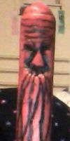 Crayon Carving of an old man by Tinkerbell0522