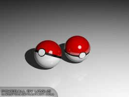 pokeball 3d by christ139