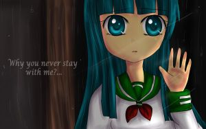 Why you never stay with me? C by Aleriy