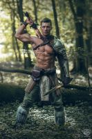 Celtic Warrior by MD-Arts