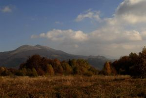Autumn in Bieszczady by grandma-S