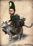 Cat saddle by smay3d