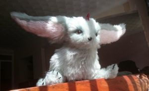 Carbuncle Plush FFXV (SOLD) by harmonixer101