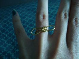 Ribbon Ring by fourthstripe