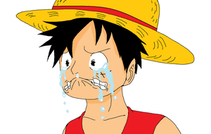 OP: Luffy Crying by XfangheartX
