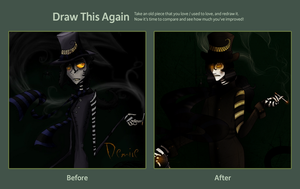 2011-2012 Draw this again. Demire by SweetlyPsychotic