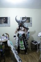 Tryndamere cosplay preview by PortgasDAceXx