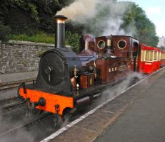 Caledonia Departs Douglas by SteamRailwayCompany
