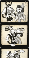 Filmstrip Friends by kozispoon