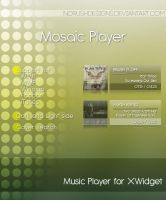 Mosaic Player for XWidget by NoRushDesigns