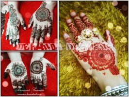 Mehndi Designs Before And After Colour by areemus